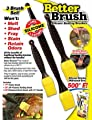 Better Brush Revolutionary Grilling And Cooking Brushes from Ontel