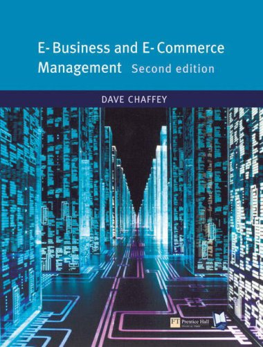 E-business and E-commerce: AND Relationship Marketing, Exploring Relational Strategies in Marketing