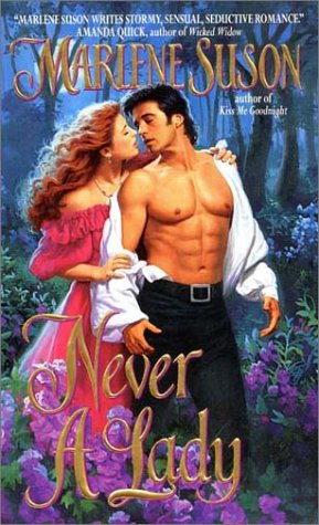 Image for Never a Lady (An Avon Romance)