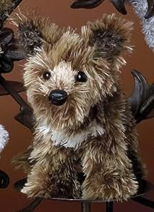 "Douglas Palm Puppies 6"" Lil Nuggets Scruffy Shep Terrier Dog"