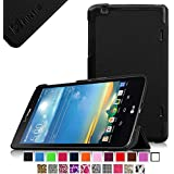 Fintie LG G PAD 8.3 Smart Shell Case - Ultra Slim Cover with Auto Sleep/Wake Feature for Model V500/V510 (Wifi Version) & VK810 (Verizon 4G LTE) - Black