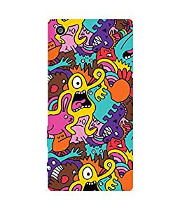 Colour Monsters Sony Xperia Z5 Case