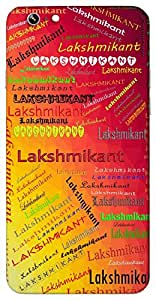 Lakshmikant (Vishnu, husband of Goddess Lakshmi) Name & Sign Printed All over customize & Personalized!! Protective back cover for your Smart Phone : Apple iPhone 6-Plus