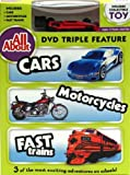 All About Cars-Motorcycles-Trains DVD with Collectible Toy