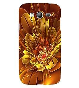 ColourCraft Digital Flower Design Back Case Cover for SAMSUNG GALAXY GRAND NEO I9060