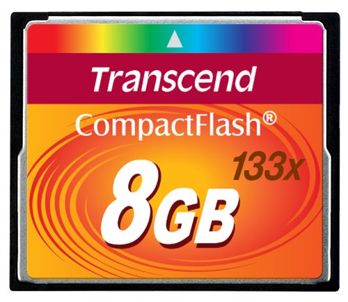Buy Cheap Transcend 8 GB 133x CompactFlash Memory Card TS8GCF133