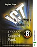 ICT Framework Solutions: Teacher Support Pack Year 8 (0748790861) by Doyle, Stephen