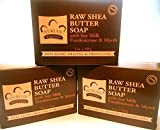 Bar Soap Raw Shea Butter 5 Oz By Nubian Heritage ( Multi-Pack) by NUBIAN HERITAGE