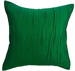 buy avarada solid crepe throw pillow cover decorative sofa couch cushion cover zippered 16x16. Black Bedroom Furniture Sets. Home Design Ideas