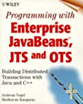 Programming with Enterprise JavaBeans...