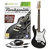Rocksmith 2014 Xbox 360 + 3/4 LA Electric Guitar Black