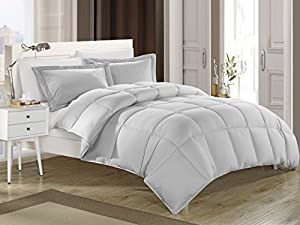 KingLinen® Blue Down Alternative Comforter Set Full/Queen