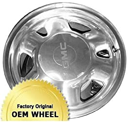 GMC,CHEVROLET SIERRA,SILVERADO,SUBURBAN,TAHOE,YUKON,1500-SERIES 16×7 6 SPOKE Factory Oem Wheel Rim- SILVER – Remanufactured