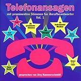 Telefonansagen mit prominenten Stimmen f�r.Anrufbeantworter Vol.1