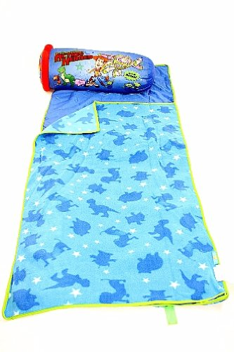 More image Disney Toy Story Slumber Nap Mat & Pillow Blue