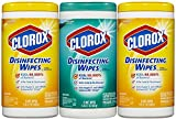 Clorox Disinfecting Wipes Value Pack, Fresh Scent and Citrus Blend, 225 Count