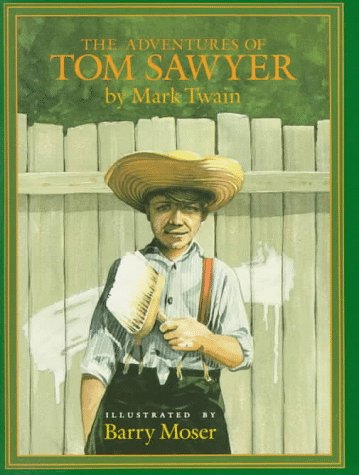 The Adventures of Tom Sawyer (Books of Wonder), MARK TWAIN