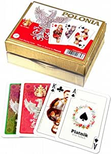 Polonia - Double Deck Playing Cards