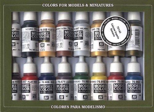 """Vallejo - Set di colori per modellismo """"Imperial Rome"""", 16 pz."""