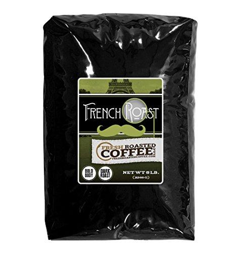 French Roast Coffee, Whole Bean, Fresh Roasted Coffee LLC. (5 lb.) (Fresh Roasted French Roast compare prices)