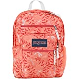 "JanSport Big Student Backpack - Coral Peaches Dragon Flight / 17.5""H x 13""W x 10""D"