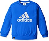 (アディダス)adidas トレーニングウェア クライマウォーム クルーネックスウェット(裏起毛) BUE70 [ボーイズ] AZ7502 ブルー/ホワイト J140