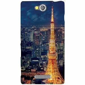 Sony Xperia C Back Cover - Scenic Designer Cases