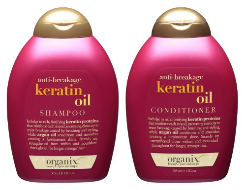 Organix keratin oil conditioner review