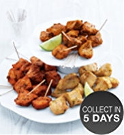 36 Asian-Style Chicken Kebabs