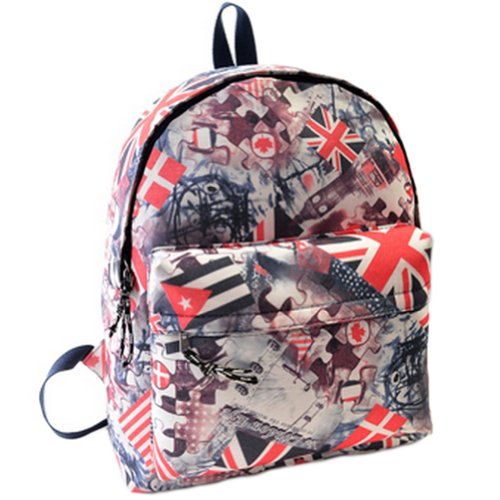 Beier® Xk2 New Special Galaxy Flag Backpack Men And Women Fashion Student Schoolbag
