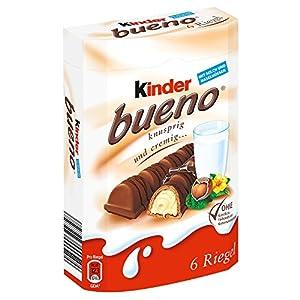 Ferrero kinder bueno, 6 pieces