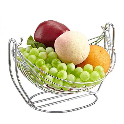 Nova Forza Grande piatto di frutta di colore in acciaio inox creativo europeo cesto di frutta cesto di frutta rack salotto culla stanza cesto di frutta
