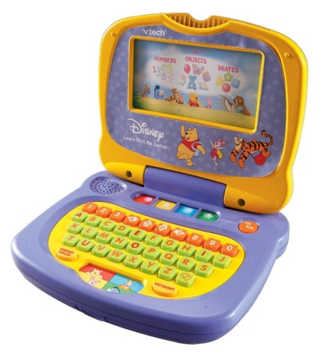 Computer Learning Toys : Buy vtech winnie the pooh s picture computer top