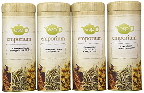 ESP Tea Emporium Absolute Rarity Tea Gift Package, 4 Count (Esp Gift Package compare prices)