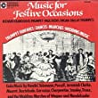 Music for Festive Occasions from Crystal Records