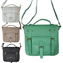 Shoulder / Cross Body Fashion Satchel Bag