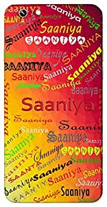 Saaniya (Popular Girl Name) Name & Sign Printed All over customize & Personalized!! Protective back cover for your Smart Phone : Samsung Galaxy S6 Edge