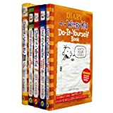Diary of A Wimpy Kid Collection 5 Books Set Jeff Kinney (The Last Straw, Rodrick Rules, Dog Days, Diary of A Wimpy Kid, Do-It-Yourself)by Jeff Kinney