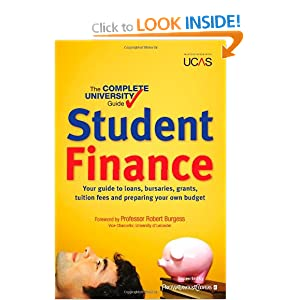 Image: Cover of The Complete University Guide: Student Finance: In association with UCAS