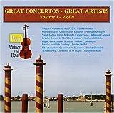 Great Concertos - Great Artists, Vol. 1: Violin