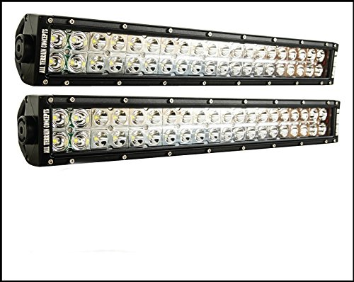 """All Terrain Concepts - Set (2) Of 21.5"""" Led Light Bar Package! Offroad Truck Jeep Land Cruiser 4X4"""