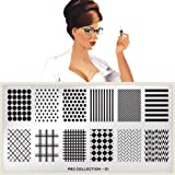 MoYou-London Nail Art Image Plate Pro XL Collection - 01