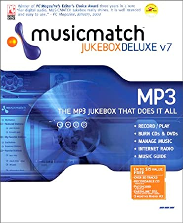 MusicMatch Jukebox 7.0 Deluxe
