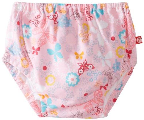 Zutano Baby-Girls Infant Summer Dream Diaper Cover, Blush, 6 Months front-644509