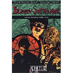 Vampire Bloody September (Clan Saga 3) (Clan Novel Saga) by Stewart Wieck, Kathleen Ryan, Gherbod Fleming and Eric Griffin