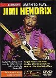Learn to Play Jimi Hendrix [Import anglais]