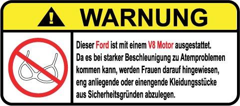 ford-v8-motor-german-lustig-warnung-aufkleber-decal-sticker