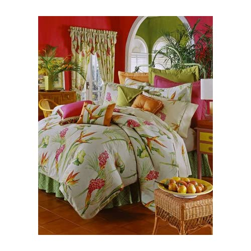 Amazon.com - Thomasville Bird of Paradise Comforter Set w/ 18in Bed