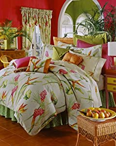 kitchen curtains and valances: Bird Song Kitchen Curtain Swag Top (pr)