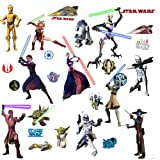 RoomMates RMK1382SCS Star Wars: The Clone Wars Glow in the Dark Wall Decals Picture
